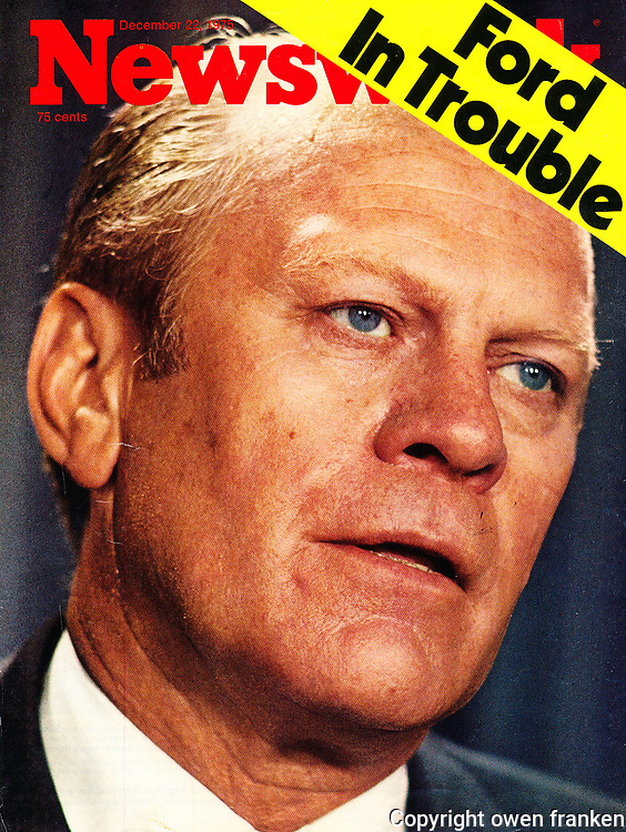 Gerald Ford- Newsweek cover