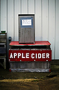 Self-serve apple cider at Heilig Orchards in Richwood, NJ is a sure sign of autumn.