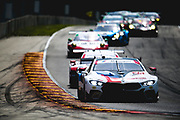 August 5 2018: IMSA Weathertech Continental Tire Road Race Showcase. 25 BMW Team RLL, BMW M8 GTLM, Alexander Sims, Connor De Phillippi,