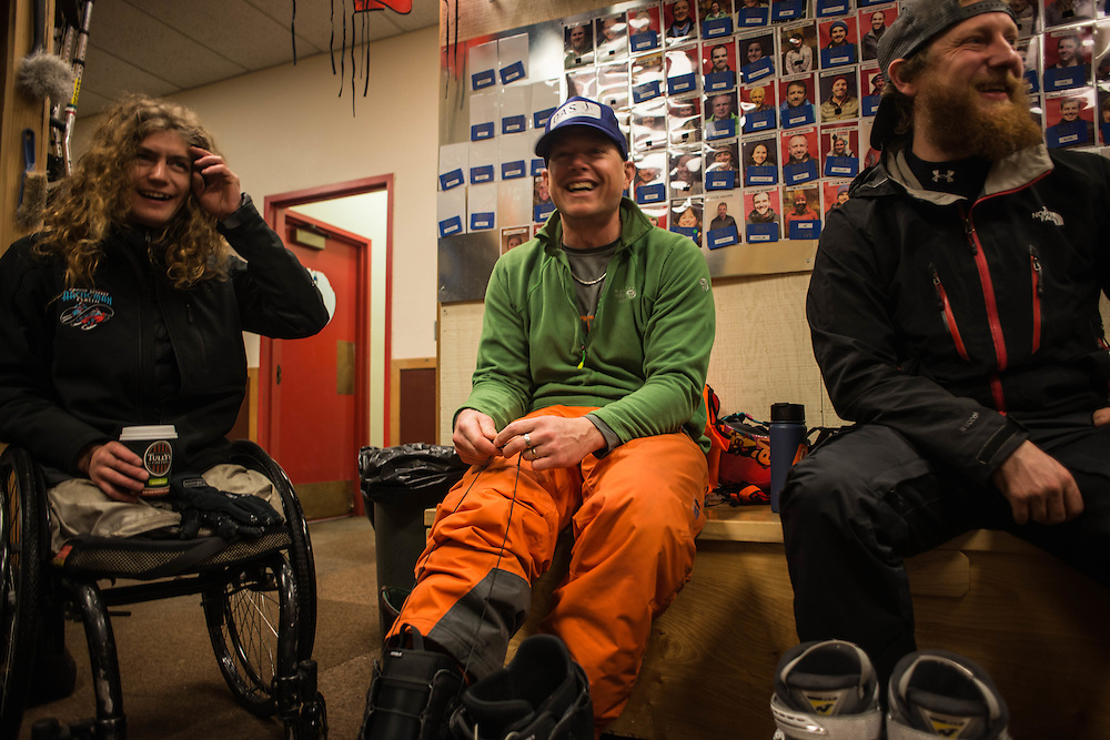 Ravi is very well known in the community in Bend, Oregon. He frequently hangs out with and helps Oregon Adaptive Sports (OAS), a company that helps teach people with disabilities how to ski.