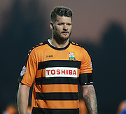 Barnet defender Michael Nelson during the Sky Bet League 2 match between Barnet and Exeter City at The Hive Stadium, London, England on 31 October 2015. Photo by Bennett Dean.