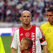 NLD/Amsterdam/20060823 - Ajax - FC Kopenhagen, Jaap Stam en Maarten Stekelenburg