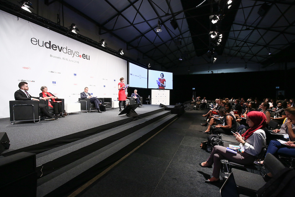 20160615 - Brussels , Belgium - 2016 June 15th - European Development Days - My city , my right - Towards inclusive and equitable urban spaces for women © European Union