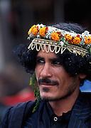 tribal people at Abha market, Asir Region