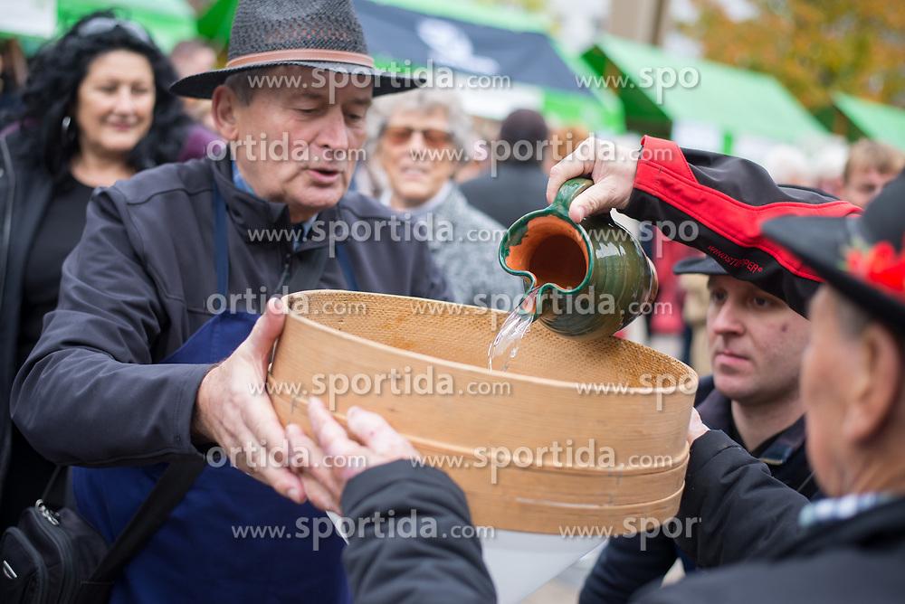 Braci from Malecnik during during martinovanje, St. Martin's Day Celebration on November 11, 2019 in Maribor, Slovenia. Photo by Milos Vujinovic / Sportida