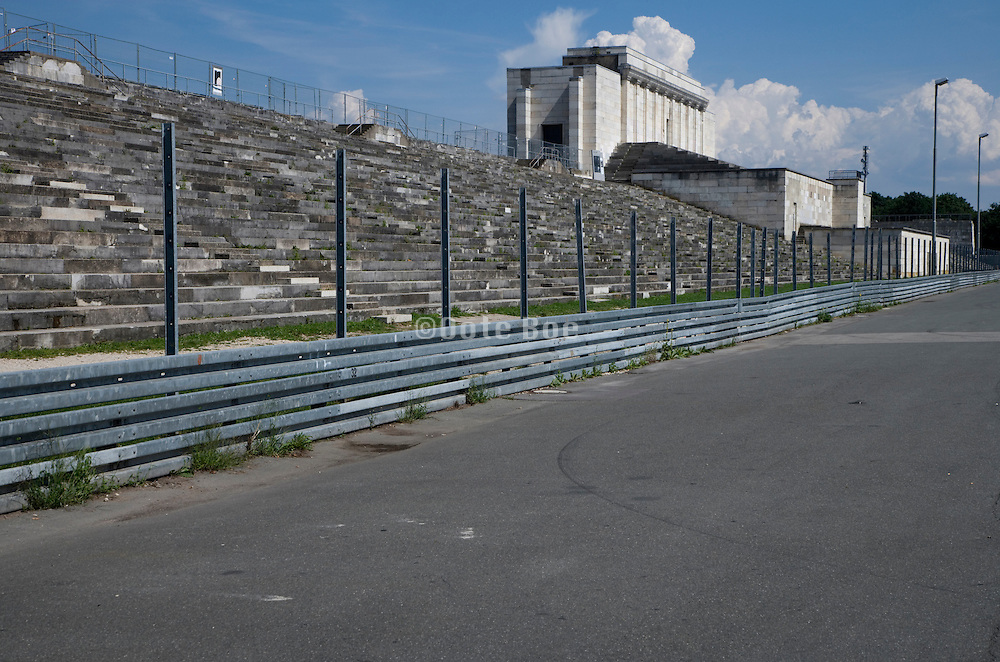 former Nazi party rallying ground in Nuremberg