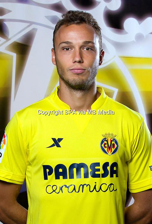 Spain - Liga BBVA 2015-2016 / <br /> ( Villarreal C.F. ) - <br /> Pablo Iniguez de Heredia Larraz