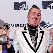 NLD/Amsterdam/20181029 - MTV pre party 2018, winnaar Jack Chirak