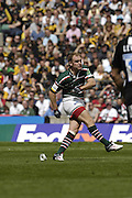 Twickenham, Great Britain.Andy GOODE, kinking a first half penalty, during the 2007 Heineken Cup Final, between Leicester Tigers and London Wasps. RFU Stadium, London,  Sun 20.05.2007. [Credit: Peter Spurrier/Intersport Images]   [Mandatory Credit, Peter Spurier/ Intersport Images].