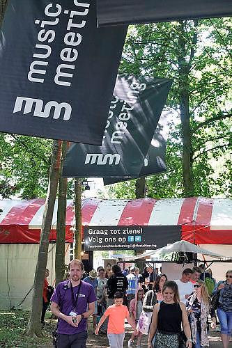 Nederland, Nijmegen, 4-6-2017MusicMeeting. Festivalterrein in park Brakkenstein. Traditioneel met pinksteren. Het mooie weer zorgde voor veel bezoekers en een goede sfeer. Optredens van acts, bands, artiesten uit de wereld muziek, worldmusic .Foto: Flip Franssen