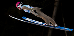 February 7, 2019 - Ljubno, Savinjska, Slovenia - Kamila Karpiel of Poland competes on qualification day of the FIS Ski Jumping World Cup Ladies Ljubno on February 7, 2019 in Ljubno, Slovenia. (Credit Image: © Rok Rakun/Pacific Press via ZUMA Wire)