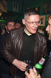 GILES DEACON at a punk party held at Selfridges, Oxford Street, London on 9th March 2006.<br />