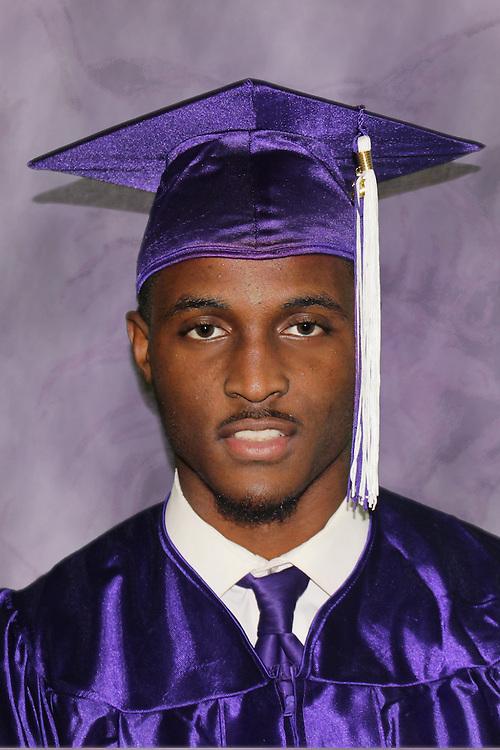 Wheatley High School 2016 valedictorian Branaun Galentine.