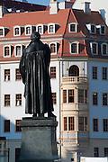 Luther Denkmal am Neumarkt, Altstadt, Dresden, Sachsen, Deutschland | Luther memorial  on Neumarkt, Dresden, Saxony, Germany,