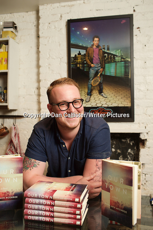 Kevin McEnroe, author and writer. The son of tennis legend John McEnroe and actress Tatum O'Neal in Brooklyn, New York, USA. 27th April 2015<br /> <br /> Photograph by Dan Callister/Writer Pictures<br /> <br /> WORLD RIGHTS