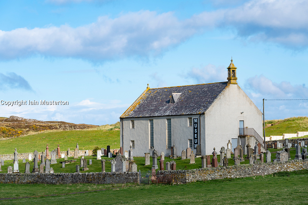 Strathnaver Museum at Bettyhill on  the North Coast 500 scenic driving route in Sutherland northern Scotland, UK