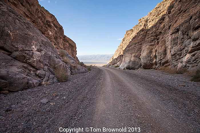 Titus Canyon Road through the Grapevine mountians