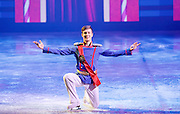 Imperial Ice Stars <br /> Nutcracker on ice <br /> Artistic Director Tony Mercer <br /> Music by Tchaikovsky<br /> at the <br /> Royal Albert Hall, London, Great Britain <br /> 28th December 2015 <br /> rehearsal <br /> <br /> <br /> <br /> Vladislav Lysoi Nutcracker Prince <br /> <br /> <br /> International ice dance sensation, The Imperial Ice Stars, return for a third season at the Royal Albert Hall with their production of The Nutcracker on Ice for Christmas 2015, as part of their 10th anniversary world tour. The Nutcracker on Ice will open on Monday 28 December for a strictly limited season of 12 performances.<br /> <br /> <br /> Photograph by Elliott Franks <br /> Image licensed to Elliott Franks Photography Services