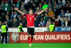 Stefan Ilsanker of Austria during the 2020 UEFA European Championships group G qualifying match between Slovenia and Austria at SRC Stozice on October 13, 2019 in Ljubljana, Slovenia. Photo by Vid Ponikvar / Sportida
