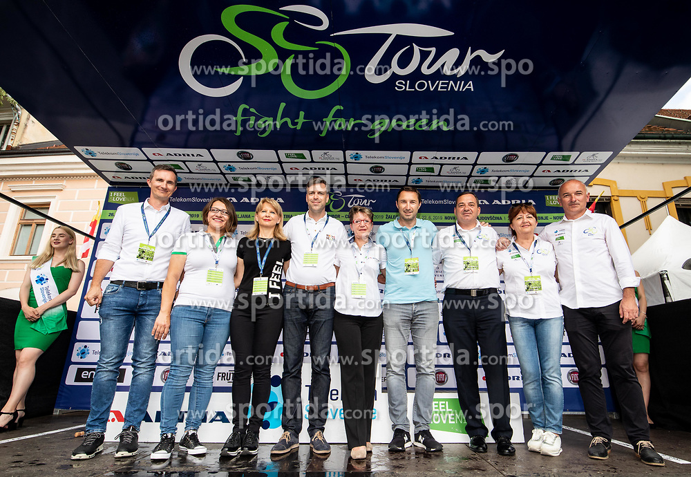 VIP during 5th Stage of 26th Tour of Slovenia 2019 cycling race between Trebnje and Novo mesto (167,5 km), on June 23, 2019 in Slovenia. Photo by Vid Ponikvar / Sportida