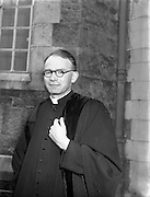 Bishops October Meeting at Maynooth.09/10/1956