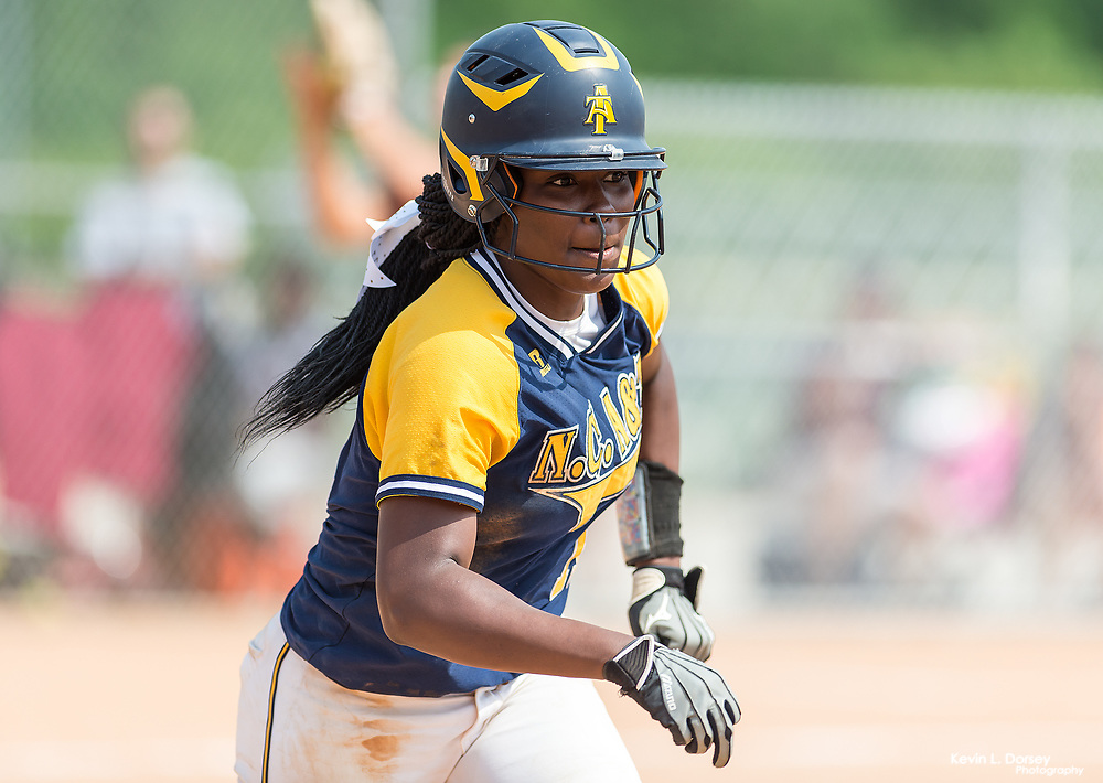 2017 A&T Softball at NCCU - DH \ www.ncataggies.com - Photo by: Kevin L. Dorsey