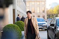 DEU, Deutschland, Germany, Berlin, 30.10.2017: Christine Aschenberg-Dugnus (MdB, FDP) vor den Sondierungsgesprächen zwischen CDU/CSU, FDP und Bündnis 90/Die Grünen in der Deutschen Parlamentarischen Gesellschaft.