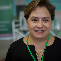 Patricia Espinosa, Executive Secretary of the United Nations Climate Change Secretariat, UNFCCC. Espinosa spoke to the Greener Attica Symposium on the Saronic Islands, Greece. This international ecological symposium organised by the Ecumenical Patriarchate convened theologians and scientists, political and business leaders, as well as activists and journalists from all over the world. Participants explored pressing issues such as climate change, loss of diversity and plastic pollution.