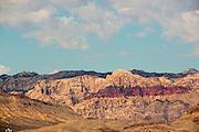 De canyons bij Las Vegas.<br /> <br /> The canyons near Las Vegas.