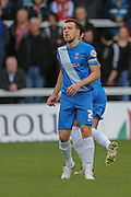 Hartlepool United defender Carl Magnay  during the Sky Bet League 2 match between Hartlepool United and Leyton Orient at Victoria Park, Hartlepool, England on 15 November 2015. Photo by Simon Davies.