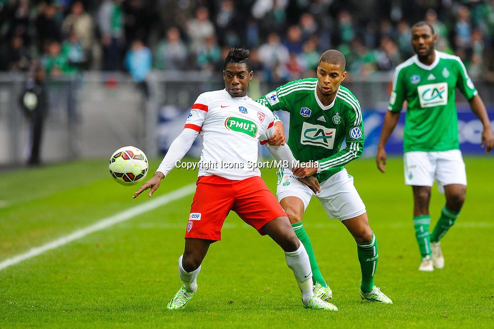 Mana DEMBELE  - 04.01.2015 - Saint Etienne / Nancy - Coupe de France<br /> Photo : Jean Paul Thomas / Icon Sport