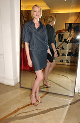 JADE PARFITT at the Peta (People for the Ethical Treatment of Animals) Humanitarian Awards held at Stella McCartney, 30 Bruton Street, London W1 on 28th June 2006.<br />