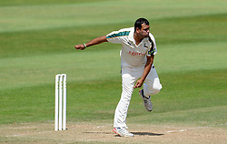 Nottinghamshire's Samit Patel - Photo mandatory by-line: Harry Trump/JMP - Mobile: 07966 386802 - 16/06/15 - SPORT - CRICKET - LVCC County Championship - Division One - Day Three - Somerset v Nottinghamshire - The County Ground, Taunton, England.