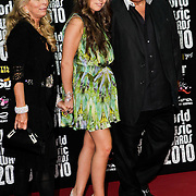 MON/Monte Carlo/20100512 - World Music Awards 2010, Tina Green, Chloe Green and Philip Green