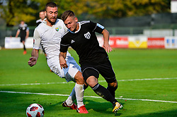 Luka Susnjara of NS Mura during football match between NS Mura and NK Rudar Velenje in 13th Round of Prva liga Telekom Slovenije 2018/19, on October 20, 2018 in Mestni stadion Fazanerija, Murska Sobota , Slovenia. Photo by Mario Horvat / Sportida