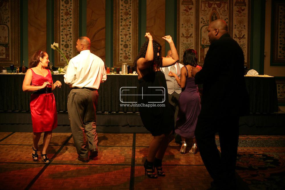 24th October 2009. Las Vegas, Nevada. Chris and Regine Patterson's wedding at the Paris Hotel in Las Vegas. PHOTO © JOHN CHAPPLE / www.chapple.biz.john@chapple.biz  (001) 310 570 9100.