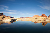 Scenic image of Lake Powell and Glen Canyon National Recreation area.