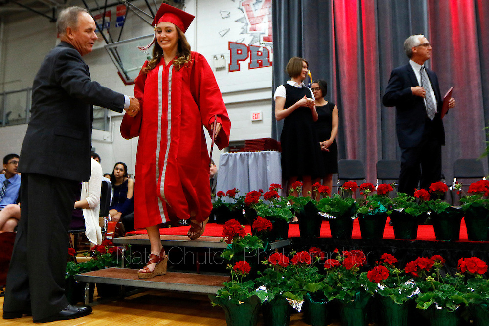 Graduation ceremony for the West Lafayette High School Class of 2016 on Friday, May 27, 2016.<br /> <br /> Nate Chute | Photographer