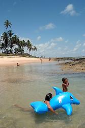 Conde, PB, Brasil. 28/Jan/2005.Praia do Coqueirinho./ Coqueirinho Beach..Foto Marcos Issa/Argosfoto