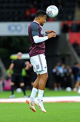 Martin Olsson of Swansea City warms up - Mandatory by-line: Nizaam Jones/JMP- 21/08/2018 - FOOTBALL - Liberty Stadium - Swansea, Wales - Swansea City v Leeds United - Sky Bet Championship