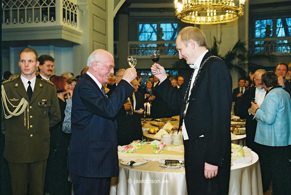 Lennart Meri & Jaak Aaviksoo