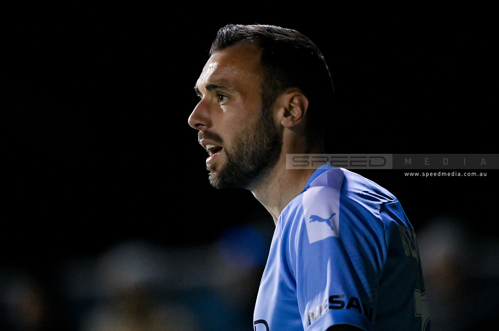 SYDNEY, AUSTRALIA - AUGUST 21: Melbourne City player Florin Berenguer (10) during the FFA Cup round of 16 soccer match between Marconi Stallions FC and Melbourne City FC on August 21, 2019 at Marconi Stadium in Sydney, Australia. (Photo by Speed Media/Icon Sportswire)
