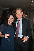 ELEONORE DRESCH; MICHAEL PORTILLO, The Culture Whisper Launch party. Royal College of art. Royal College of Art, Kensington Gore. London. 28 January 2014