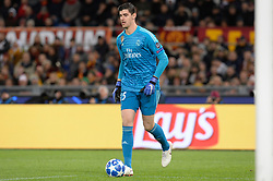 November 27, 2018 - Rome, Italy - Thibaut Courtois during the UEFA Champions League match group G between AS Roma and Real Madrid FC at the Olympic stadium on november 27, 2018 in Rome, Italy. (Credit Image: © Silvia Lore/NurPhoto via ZUMA Press)
