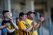 GOTHENBURG, SWEDEN - JULY 19: Fans of BK Hacken during the UEFA Europa League Qualifier match between BK Hacken and FK Liepaja at Bravida Arena on July 19, 2018 in Gothenburg, Sweden. Photo by Nils Petter Nilsson/Ombrello ***BETALBILD***