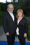 David Keith Heald, left, and Lesley Nicol, right, arrive Mercy For Animals' Annual Hidden Heroes Gala on September 10, 2016 at Vibiana, Los Angeles, California (Photo: Charlie Steffens/Gnarlyfotos)
