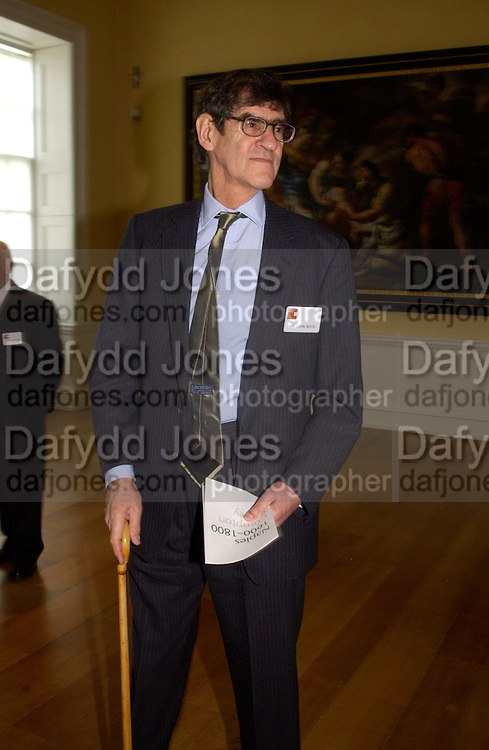 Sir John Boyd, Official opening Compton Verney, 23 March 2004. ONE TIME USE ONLY - DO NOT ARCHIVE  © Copyright Photograph by Dafydd Jones 66 Stockwell Park Rd. London SW9 0DA Tel 020 7733 0108 www.dafjones.com