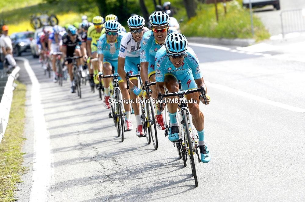 Paolo Tiralongo - Astana - 29.05.2015 - Tour d'Italie - Etape 19 :  Gravellona Toce / Cervinia<br />Photo : Sirotti / Icon Sport