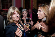 RACHEL JOHNSON; CHRISTOBEL KENT; ROWAN PELLING, The 2009 Literary Review Bad sex in Fiction award. In and Out Club. St. James's Sq. London. 30 November 2009