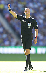 Referee Anthony Taylor - Mandatory byline: Paul Terry/JMP - 07966386802 - 02/08/2015 - Football - Wembley Stadium -London,England - Arsenal v Chelsea - FA Community Shield